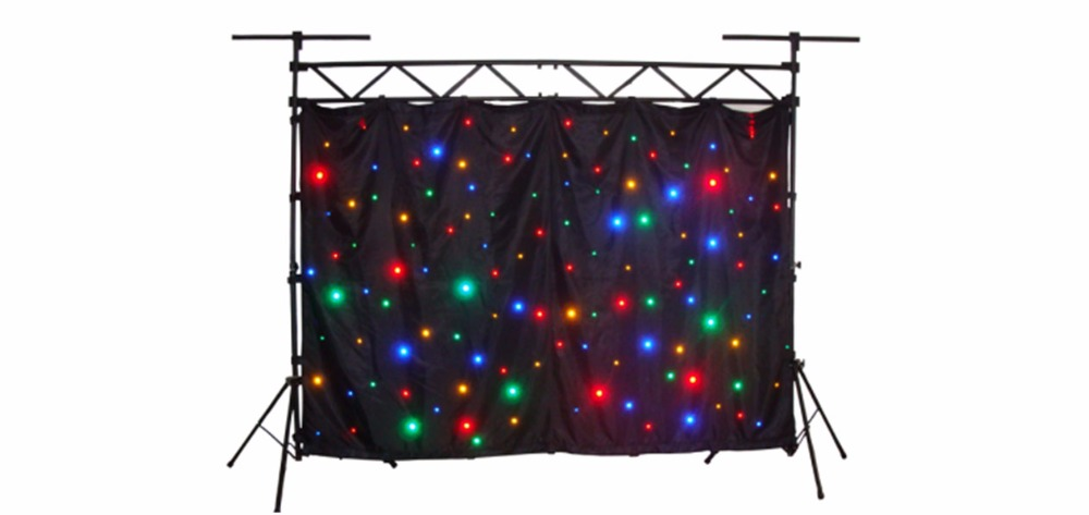 RGB 3IN1 fullcolor 3m by 4m LED starry light without stand