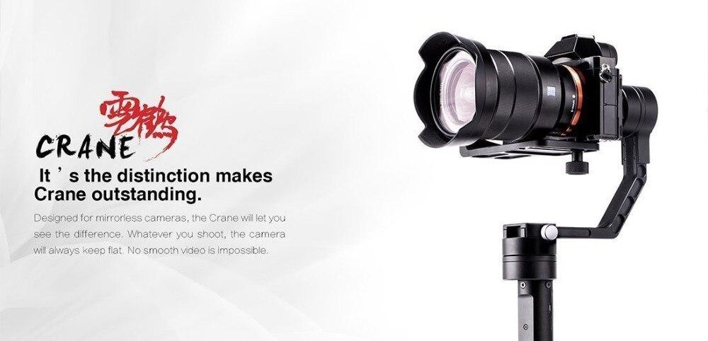 Zhiyun Gimbal jeřáb V2 3-osý přenosný ruční kardanový - Videokamery a fotoaparáty - Fotografie 3