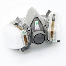 6200 Респиратор, Противогаз 7 Подходит Пылевой Фильтр Краска Пыль Спрей Половина маска Анти-Туман Дымка Маски 6200 5N11 6001(China (Mainland))