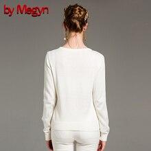 by Megyn winter women fashion pullover wool sweater women v-neck long sleeve elastic print female knitted top jumper sweater