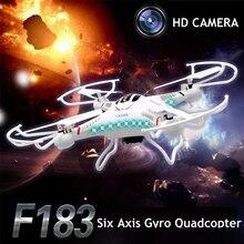 DFD F183 Dron Drones Quadcopter Con Cámara HD de 2.0MP 4CH 6 Ejes Quadrocopter Aviones de Control Remoto Juguetes Helicóptero Helicoptero