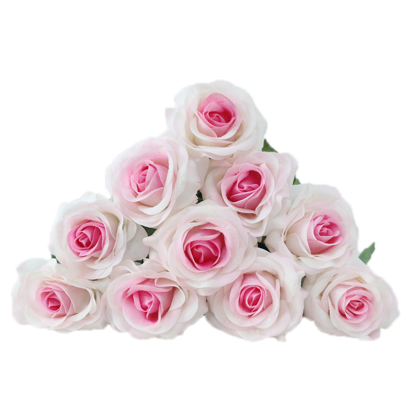 JAROWN Artificial Real Touch Hand Feel Rose Latex Flowers For Valentine`s Day Preparation Wedding Decoration Home Decor (3)