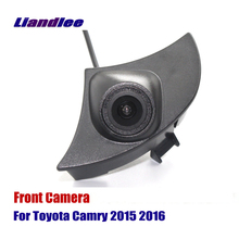 Liandlee AUTO CAM Front View Camera For Toyota Camry 2015 2016 Car Grill Embedded ( Not Reverse Rear Parking )