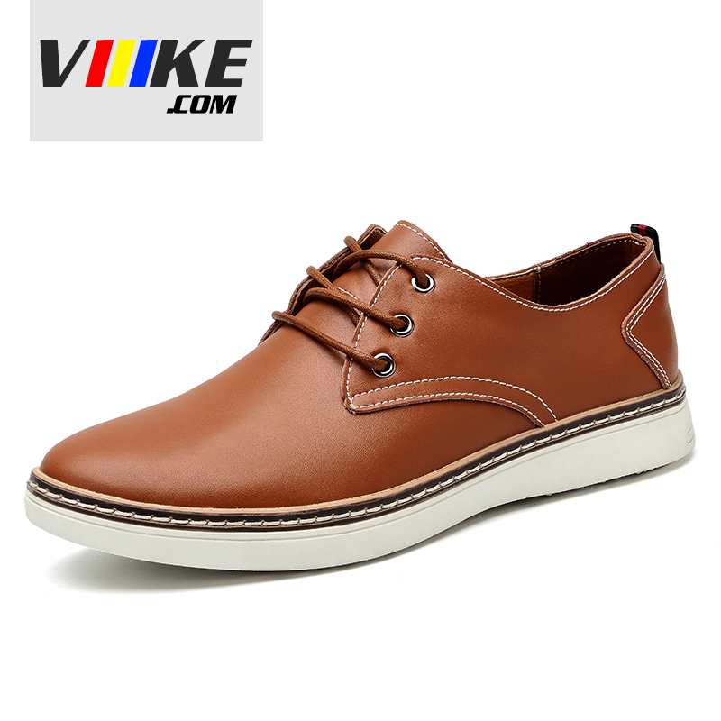 Men Large Sizes 39-47 Shoes Casual Lace Up Fashion flats Black,Blue,Brown Men Shoes Leather Casual Shoes Classic Male Flats free shipping 2017 new black brown autumn and winter full grain leather casual shoes men s fashion flats lace up shoes for men