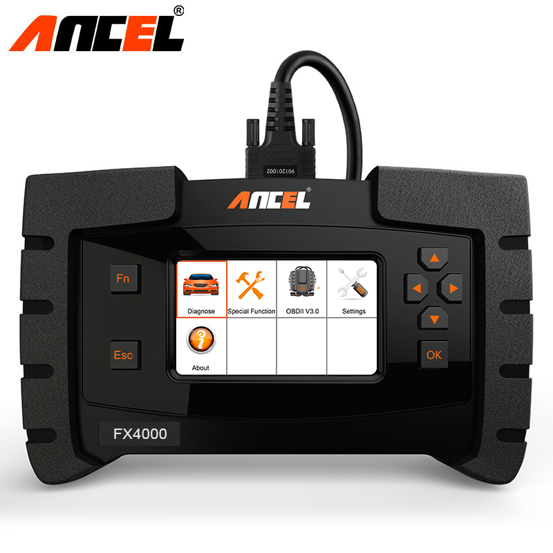 Ancel FX4000 OBD2 Automotive Scanner Full System Car Diagnostic Tool ABS Airbag SRS EPB AT Oil