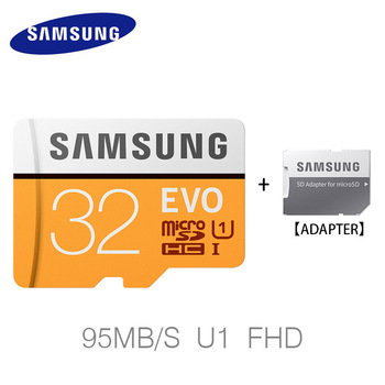 SAMSUNG  EVO Memory Card 32G 64G 128G 256G SDHC MicroSD Class 10 Micro SD card C10 UHS TF Trans Flash 16 GB Phone Cards