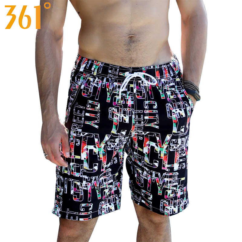 f81b198e21a 361 Men Board Shorts Plus Size Quick Dry Surfing Beach Shorts Sports Mens  Swimming Trunks Boxer