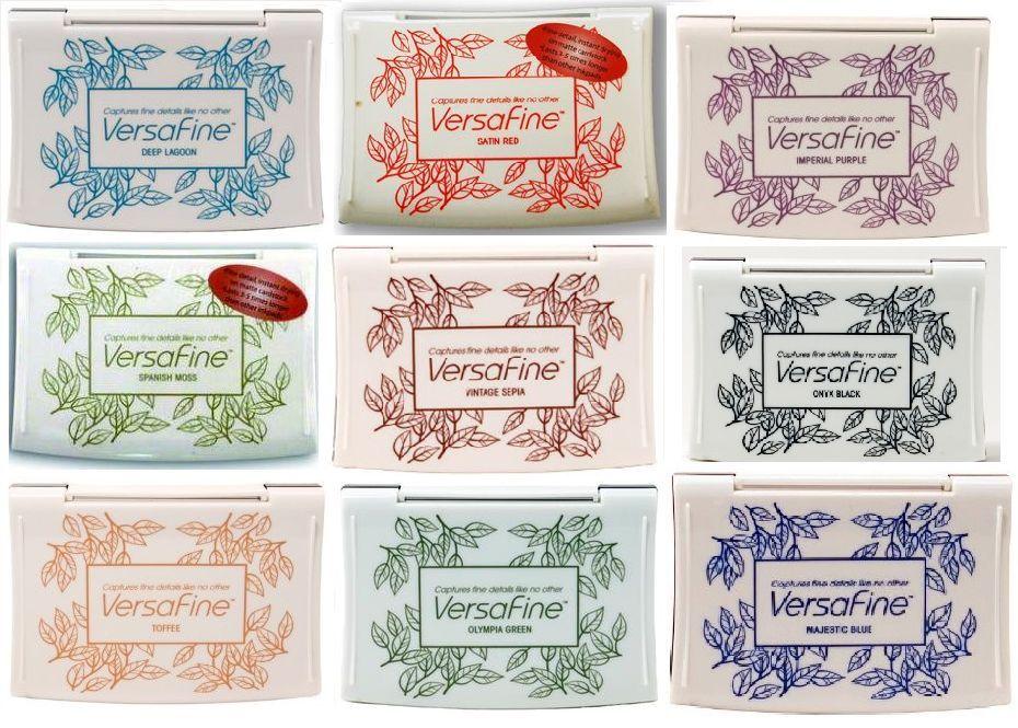 Vintage Sepia Tsukineko Full-Size VersaFine Instant Dry Pigment Ink