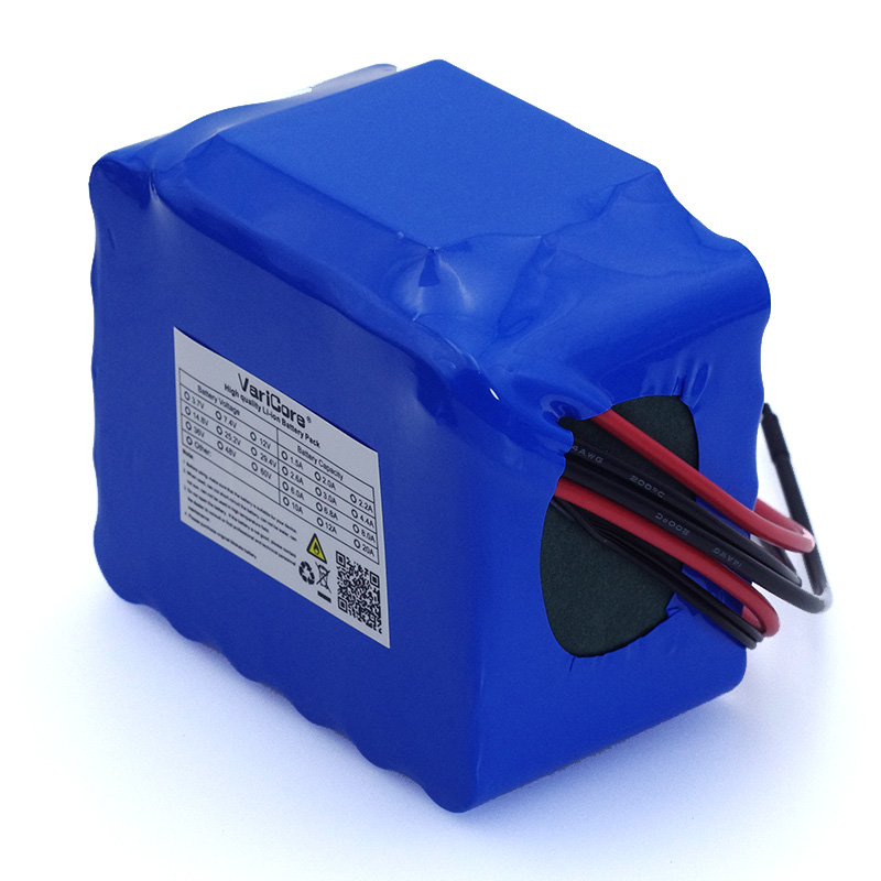 Image 2 - VariCore 12V 11.1v 20Ah high power 50A 100A discharge battery pack BMS protection 4 line output 12.6V 500W 800W 18650 batteries-in Battery Packs from Consumer Electronics