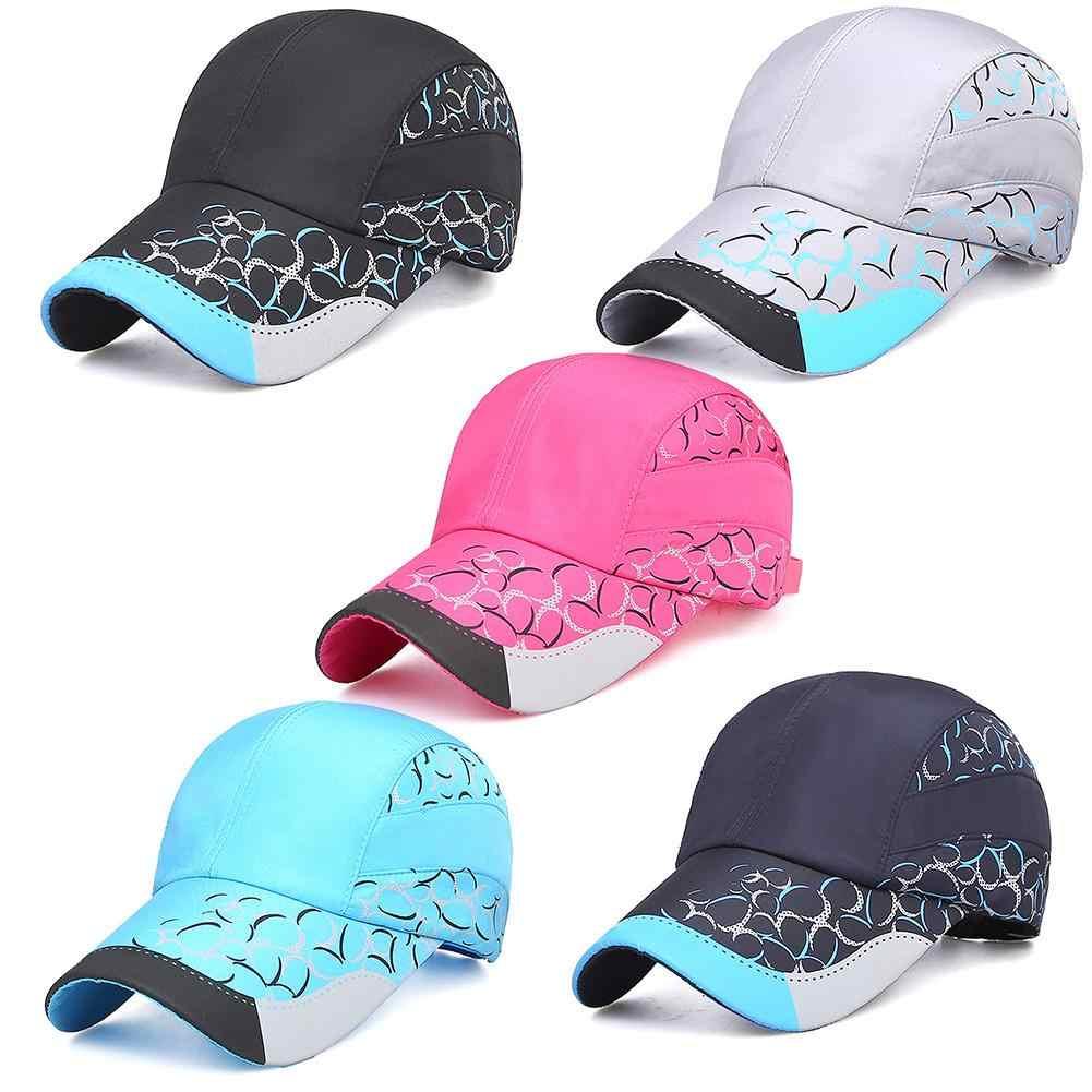 f1649e479fb 2018 Unisex Adjustable Quick-drying Slim Sports Hat Women  s Outdoor Sun  Protection Baseball