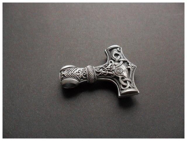Huge Thor hammer Mjolnir Viking Amulet   Hammer Scandinavian Pendant Norse Jewelry