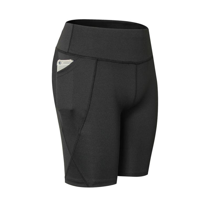 2018 New Summer Quick-dry   Leggings   Women Fitness High Waist Skinny   Leggings   Plus Size 2XL Slim Knee-Length Short Trousers