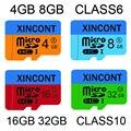 4GB 8GB 16GB 32GB Class10 Micro SD Card Memory Cards Carte Card Realy Capacity For Mobile Phone Micro SD Cartao De Memoria