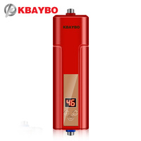 3 Seconds Instantaneous Water Heater Electric Shower Water Heater Tap Thermostatically Controlled Up To 55 Degrees