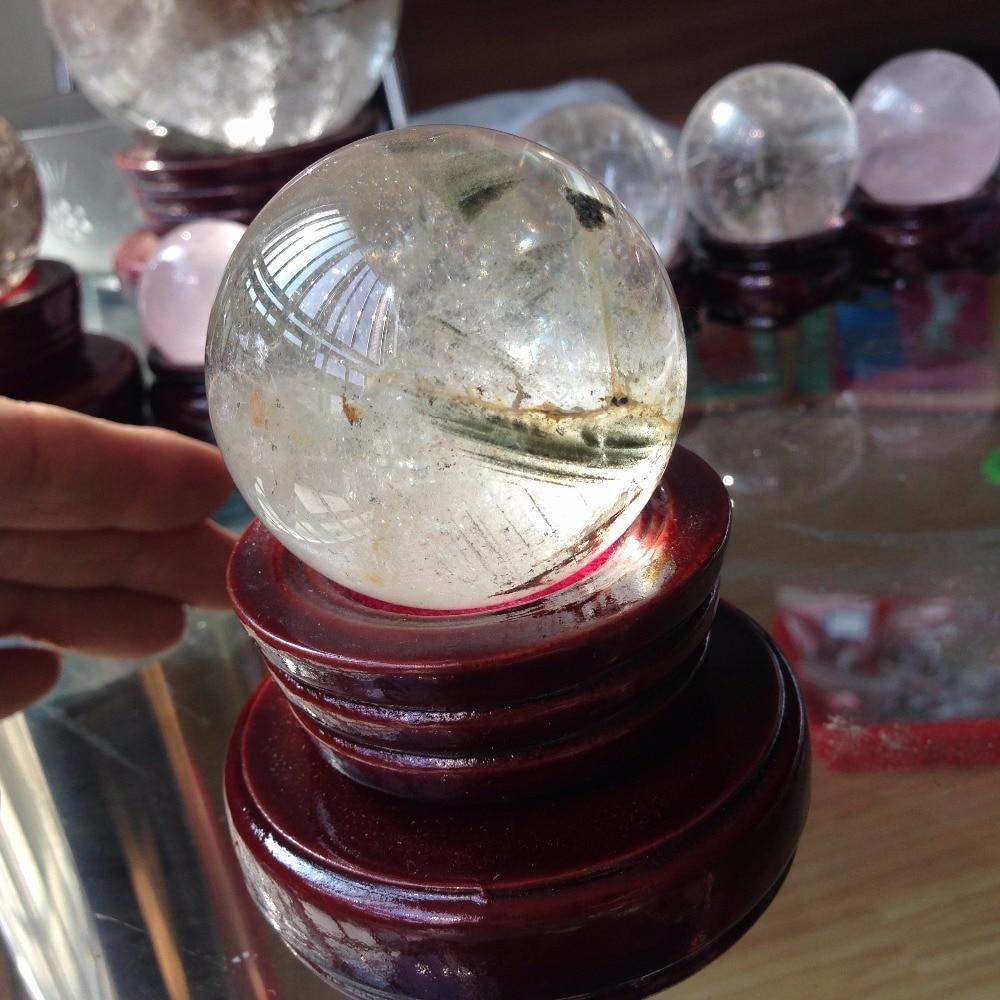 49mm Natural Clear Quartz Crystal Minerals Rock Healing ...Quartz Crystal Spheres For Sale