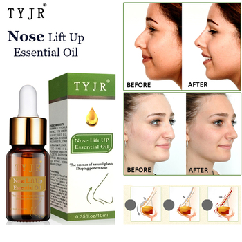 No Surgery Nose Lift Up Essential Oil Nasal Bone Remodeling Essence Narrow Thin Nose Lifting Firming Cream 10ML effecttive powerful nosal bone remodeling oil beautiful nose lift up cream magic essence cream beauty nose up shaping product