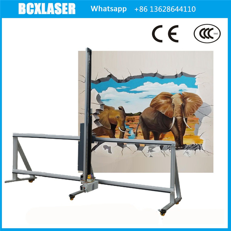 High Resolution House Decoration Wall Printer For Painted Inside and Outside Wall on Hot Sale