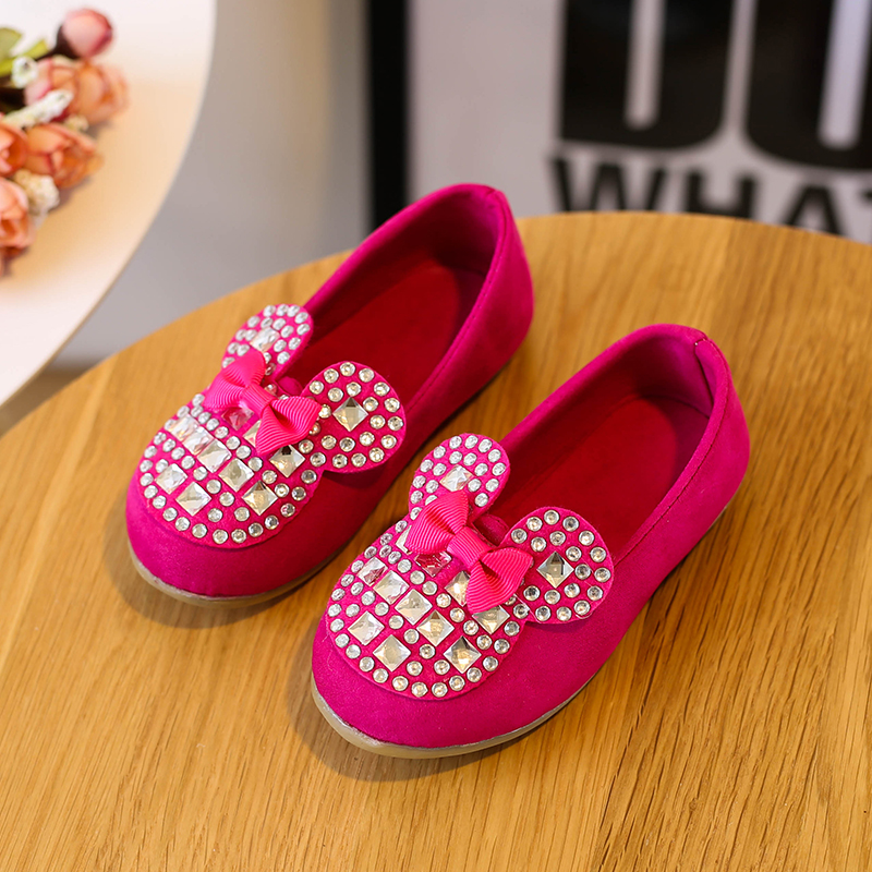 Candy Color Kids Shoes Princess Girls Shoes Fashion Girls Sandals Kids Designer Single Shoes Summer Bow Girls Sandals Size 21-30