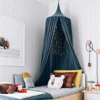 Nordic Baby Room Wall Decoration Single Door Hanging Net Children Bedroom Decor Cotton Kids Girls Mantle Nets Tents