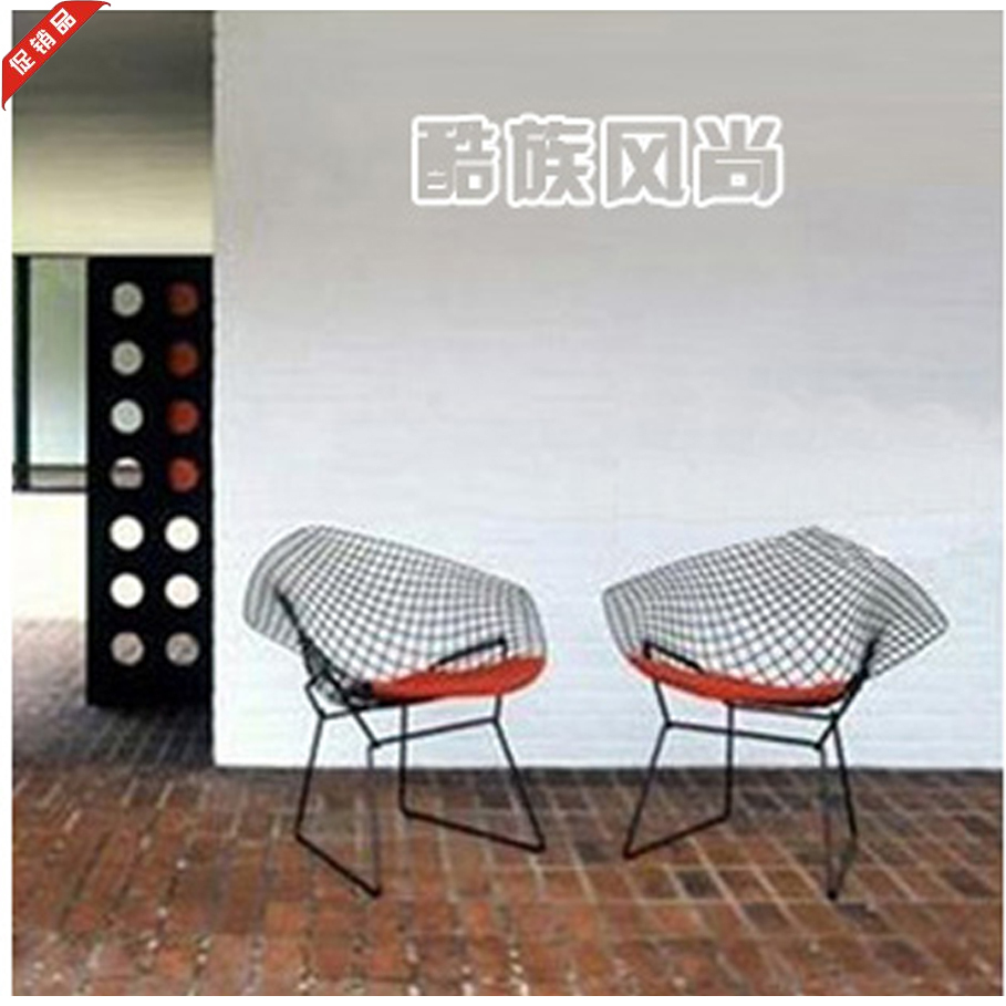 Diamand Stuhl stuhl DRAHT große diamant drahtgeflecht stuhl stuhl ...
