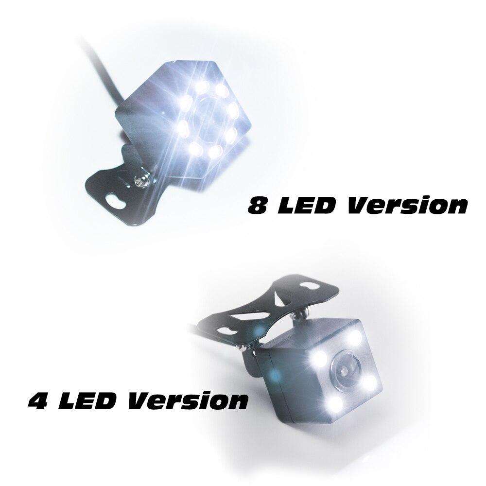 170 градусов, 4 светодиодный, ночное видение, Автомобильная камера заднего вида, HD видео, водонепроницаемый, автостоянка, монитор заднего вида, CCD