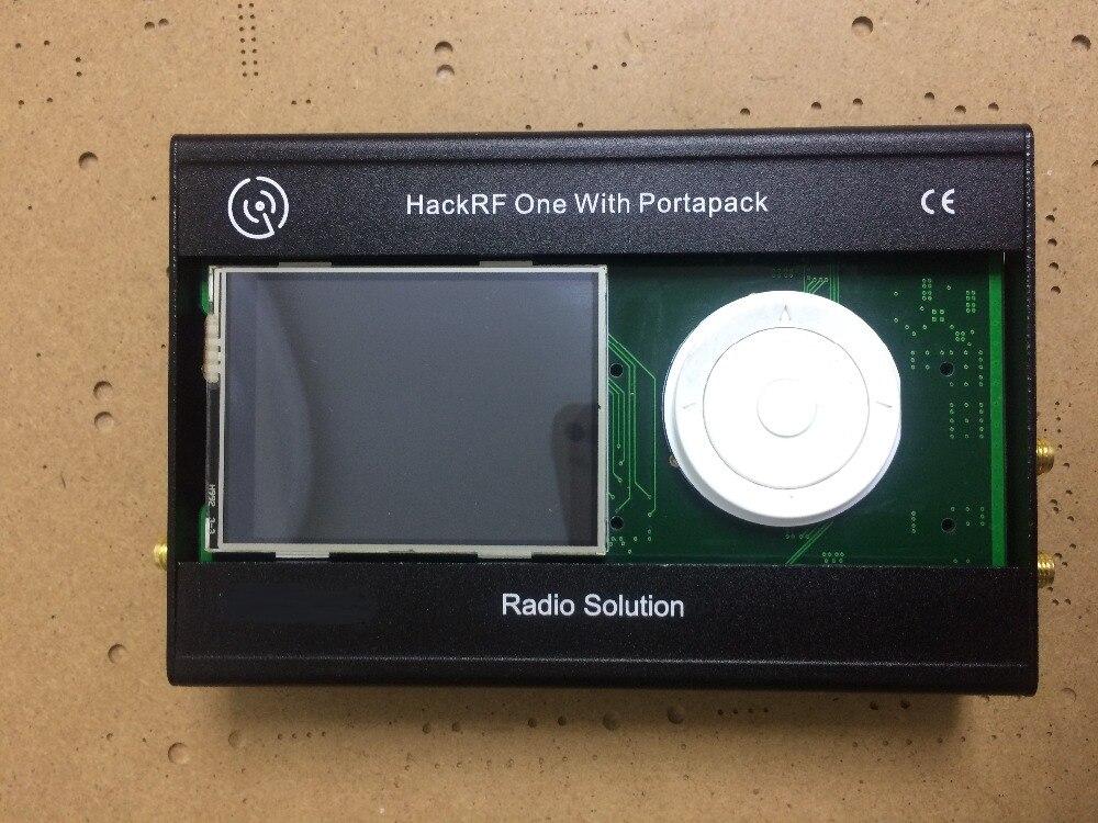 2017 última versión PORTAPACK para HACKRF una SDR de Radio definido por Software con caja de metal