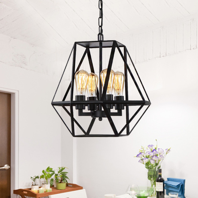 Wire lampshade art wire center art deco vintage industrial antique metal cage pendant light factory rh aliexpress com wire lampshade frames greentooth Gallery