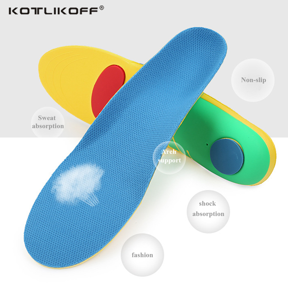 KOTLIKOFF flat feet orthotic insoles arch support orthopedic inserts Plantar Fasciitis,Feet Pain,Pronation for Men and Women