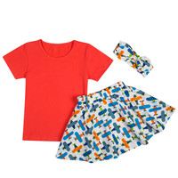 New Baby Clothing Cotton Baby Girl Clothes 3 Pieces Baby Boy Clothes Newborn Clothing Sets Baby