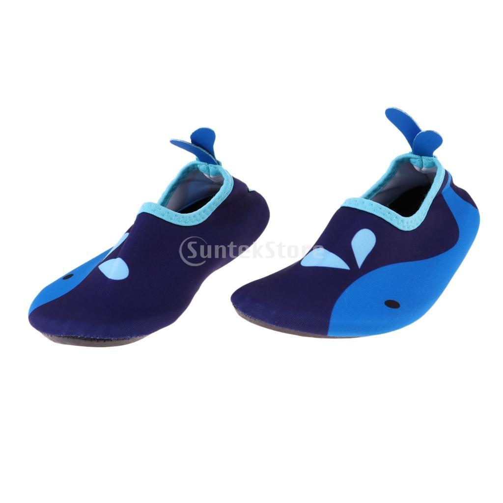 Breathable /& Quick Dry Unisex Kids Water Shoes Beach Swim Surf Aqua Socks