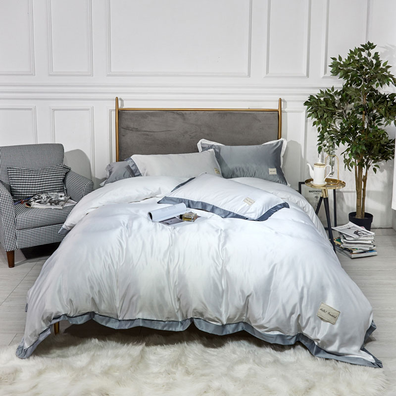 100% Washed Cotton Duvet Cover Set 4 Piece Soft Bedding Set with Buttons Closure. Solid Color Pattern Duvet Cover Queen Size100% Washed Cotton Duvet Cover Set 4 Piece Soft Bedding Set with Buttons Closure. Solid Color Pattern Duvet Cover Queen Size