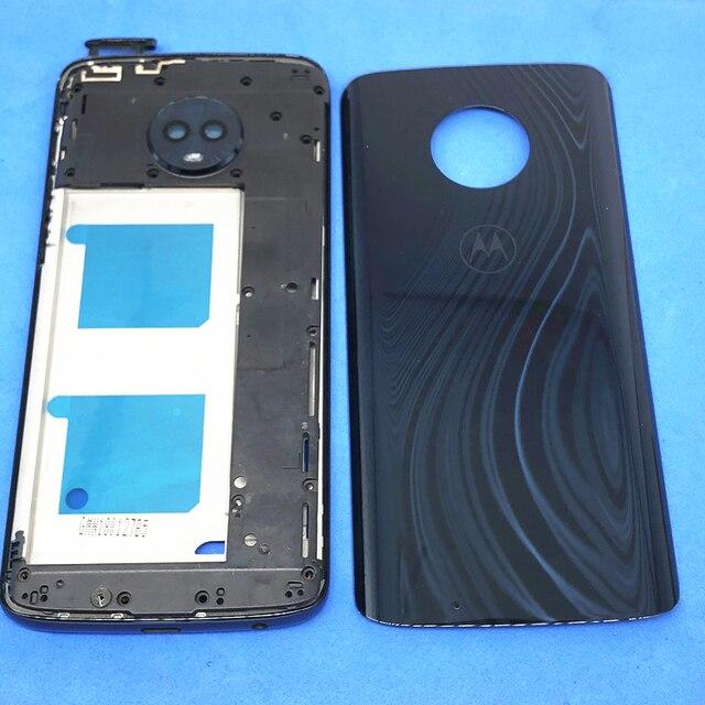 Original Full Housing cover For Motorola Moto G6 xt1925 (faceplate/mid frame+backplate+battery back case)