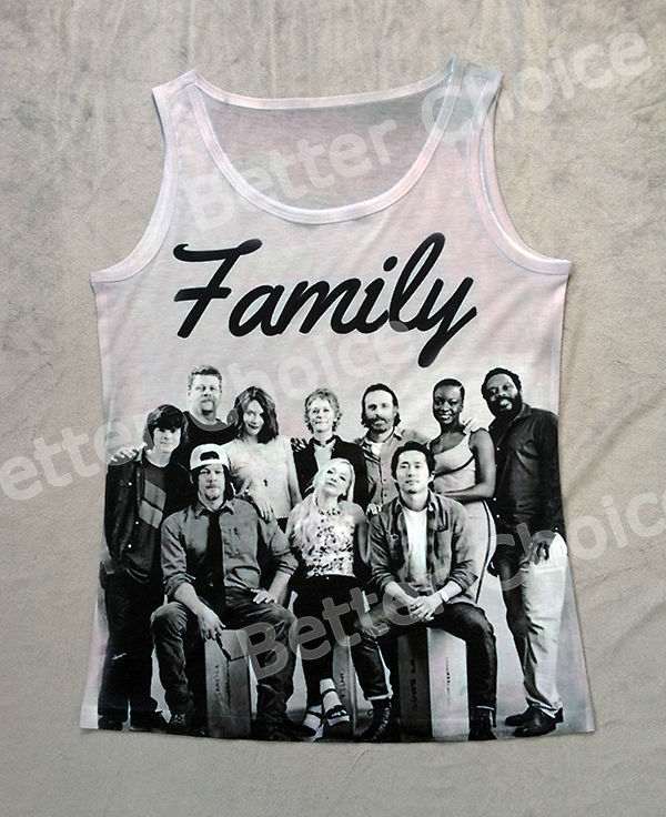 Track Ship Fresh New Vest Tanks Tank Tops Camis The Walking Dead