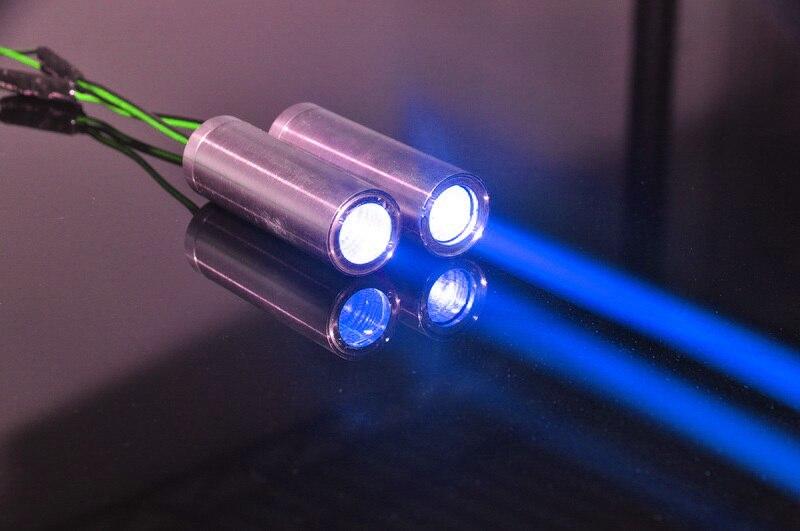 Graisse Faisceau 445 nmBlue 80 mW Laser Diode Module f KTV Bar DJ Éclairage de Scène