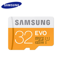 Samsung Micro SD карты памяти 32 ГБ mini sd карты 32 ГБ Class10 Водонепроницаемый C10 TF Trans Flash mikro memoria карта для мобильного телефона