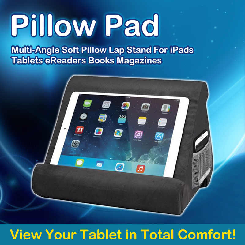 multi angle soft pillow lap stand for ipads stand tablets ereaders books magazines for ipad adjustable stand for ipad holder