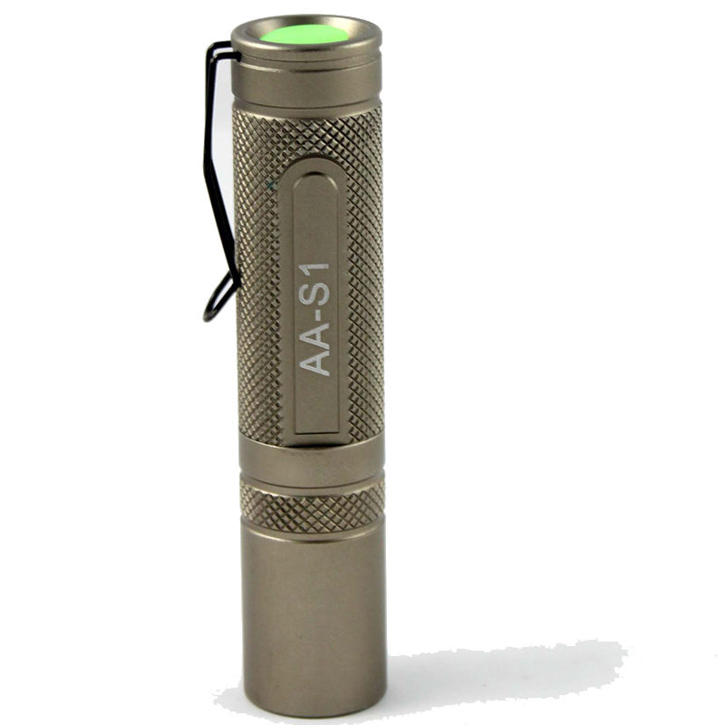 UniqueFire AA S1 Mini Flashlight XRE 3 Modes Light Adjustable Portable Lamp Torch For Outdoor Sport