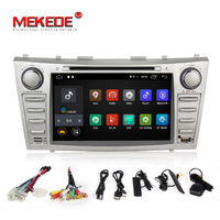 2din Pure Android7.1 HD screen 1024*600 car dvd gps player for toyota camry support radio bluetooth 4g wifi OBD2 DVR IPOD