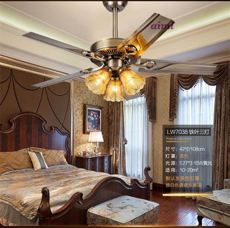 Ventilatorska svjetiljka ventilacijska svjetiljka dnevna soba - Unutarnja rasvjeta - Foto 5