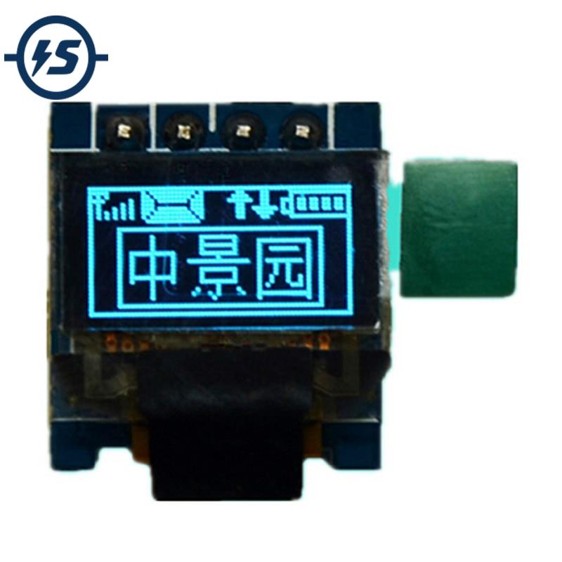 White OLED Display Module 64x32 I2C IIC 0.49inch for Arduino AVR STM32