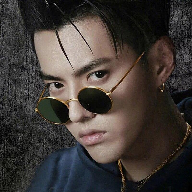 2019 Classic circular-frame fashion sunglasses men Korean version RETRO SUNGLASSES and women