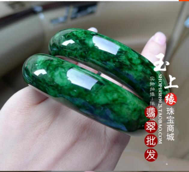 Натуральная Myanmar Jadeite Подвеска из воска разнообразие с зеленый браслет женский стиль без Изумрудного сухого зеленого(сертификат доставки