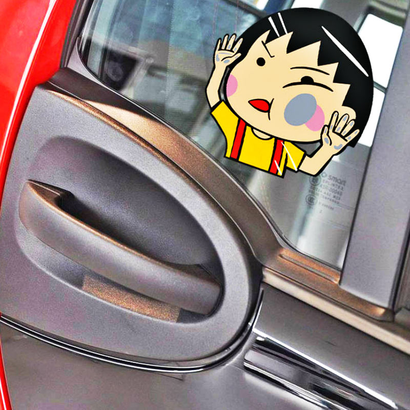 Inside//Outside Glass Car Window STICKERS 4 Alarm DECALS for Hyundai