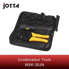 цены WXK-30JN mini combination tool including 1 piece terminal crimping plier four types of crimping module &S35WF