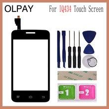 3.5 フライFly IQ434 IQ 434タッチスクリーンデジタイザパネルの修理部品タッチスクリーンフロントガラスレンズセンサー