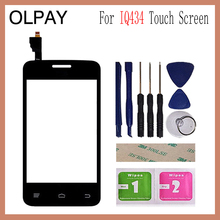 3.5 For Fly IQ434 IQ 434 Touch Screen Digitizer Panel Repair Parts Touchscreen Front Glass Lens Sensor
