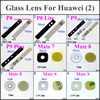 1pcs Back Rear Camera Glass Lens For Huawei P8 /P8 LITE P9 /P9 PLUS Mate 7 8 /mate S w/ Adheisve Sticker Black/White/Gold/Silver