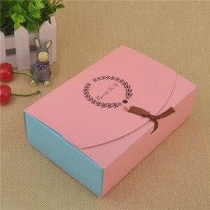 Image 4 - 30 шт., специально для U бумаги, коробка для шоколадных тортов, женская коробка для печенья, Детская коробка для рукоделия