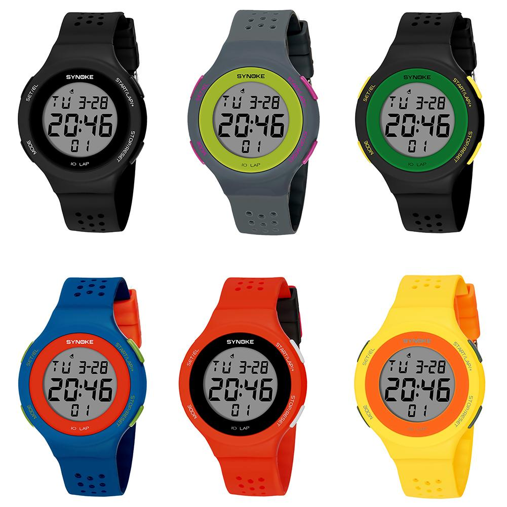 digital watch Ultra-slim Hollowed Band Luminous Waterproof Digital Unisex Sports Wrist Watch watch men watches reloj