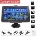 TFT-LCD 7 inch Portable Car GPS Navigation FM 8G Car Navigator Sat Nav Touch Screen FM MP3 For AU+US+EU/UK Lifetime Maps